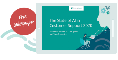 Free Whitepaper State of AI in Customer Support