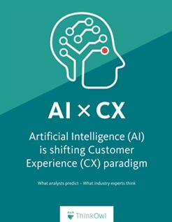ThinkOwl Ebook - AI Shifting Customer Experience